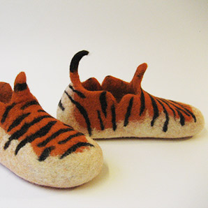 Pantoffeln Tiger